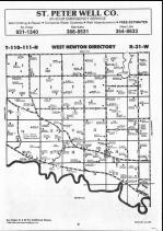 Map Image 001, Nicollet County 1990